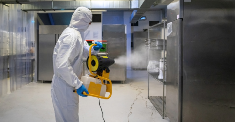 disinfecting mist machine for hotels